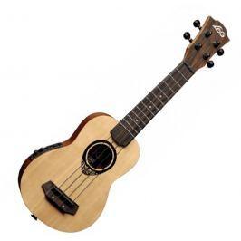 LAG BABY-TKU-150 Tiki Uku Soprano Acoustic Electric