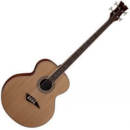 Dean Guitars Acoustic/Electric Bass - Satin Natural