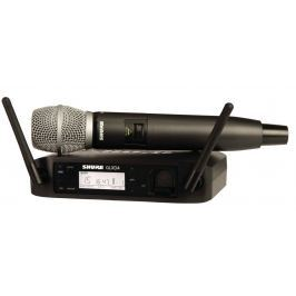 Shure GLXD24E/SM86 Handheld Wireless System