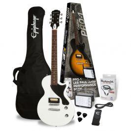 Epiphone PRO-1 Les Paul Jr. Performance Pack Alpine White