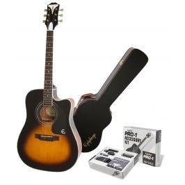 Epiphone PRO-1 Ultra Acoustic Electric Vintage Sunburst SET