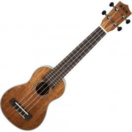 Kala Gloss Mahogany Soprano Long Neck Ukulele with Bag