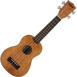 Kala Exotic Mahogany Soprano Ukulele with Bag