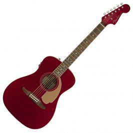 Fender Malibu Player Candy Apple Red