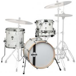 DDRUM SE Bop Kit In White Marine Pearl Finish
