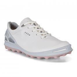 Ecco Golf Cage Pro White/Silver Pink 37 Womens