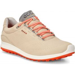 Ecco Golf Biom Hybrid 2 Oyester/Coral Blush 40 Womens