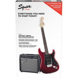 Fender Squier Affinity Series Stratocaster HSS Pack ILCandy Apple Red