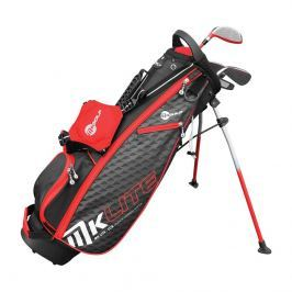 Masters Golf MKids Half Set Rh Red 53IN - 135cm