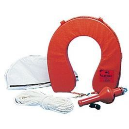 Osculati Horseshoe lifebuoy w/ white cover