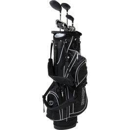 Spalding True Black Full Set Mens RH Graphite/Steel Stand Bag