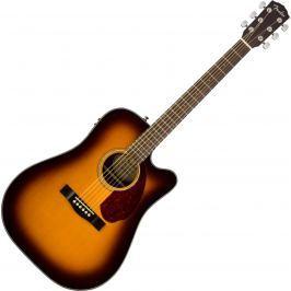 Fender CD-140SCE with Case Sunburst (B-Stock) #908813