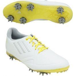 Adidas W Adizero Tour White/Yellow Womens UK5.5