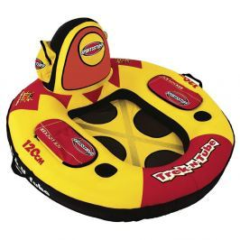 Sportsstuff Inflatable Trek-N-Tube 1 Person Yellow/Black/Red
