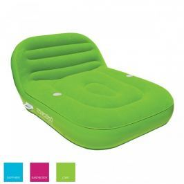 Airhead Inflatable Double Chaise Lounge 2 Persons lime
