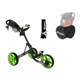 Clicgear 3.5 Plus Charcoal/Lime DELUXE SET