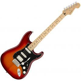 Fender Player Series STRT HSS PLSTP MN Aged Cherry Burst
