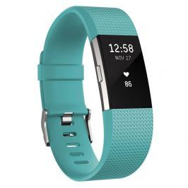 Fitbit Charge 2 Teal Silver S