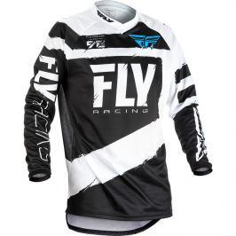 Fly Racing F-16 2018 schwarz-weiß - S