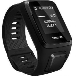 TomTom Spark 3 Cardio + Music S (121-175 mm) - schwarz