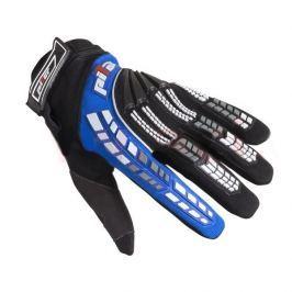 Pilot Dětské motokrosové rukavice schwarz-blau - 3