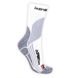 inSPORTline inSPORTline ponožky bílé weiß - XS 26-29