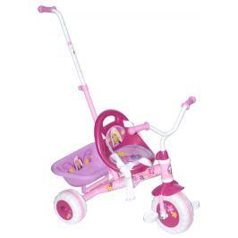 Barbie Dětská Barbie tříkolka s vodící tyčí