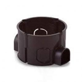 Schalterdose schwarz 42 mm