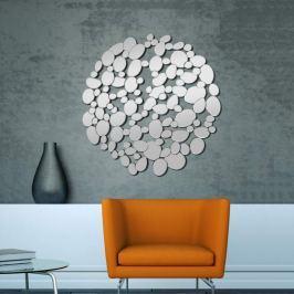 Dekorativer Design-Wandspiegel Bubble rund