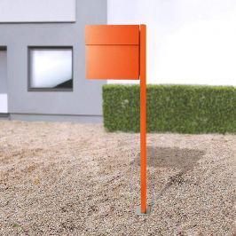 Letterman IV Standbriefkasten orange