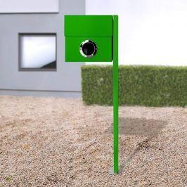 Perfekter Briefkasten Letterman XXL Pfosten grün