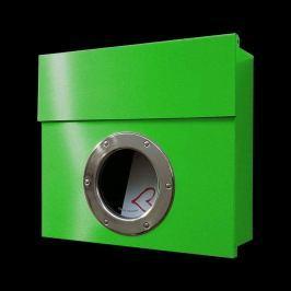 Design-Briefkasten Letterman I, grün