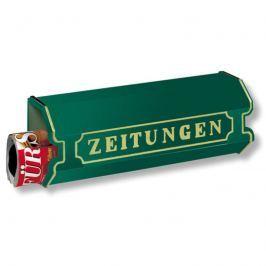 Aluguss Zeitungsbox 1890, grün