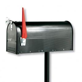 U.S. MAILBOX mit schwenkbarer Fahne, schwarz