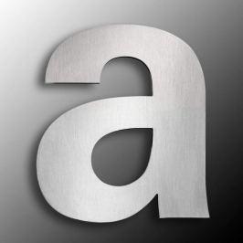 Edelstahl-Hausnummern  groß  - Buchstabe a