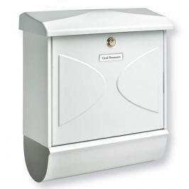 FUTURA - Briefkasten mit Zeitungsrolle, weiß