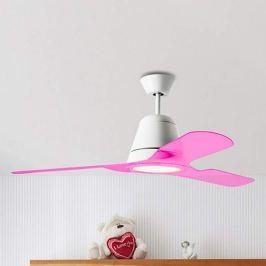 Rosafarbene Flügel zum Deckenventilator Tiga