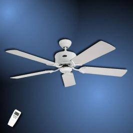 Schlichter Deckenventilator Eco Elements weiß-grau