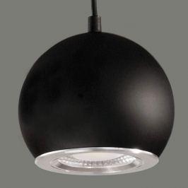 Schwarze LED-Hängeleuchte Simon
