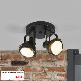 Arlen - zweiflammige LED-Deckenlampe mit GU10