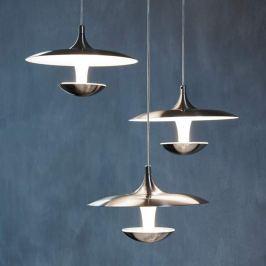 Futuristisch gestaltete LED-Hängeleuchte Toronja