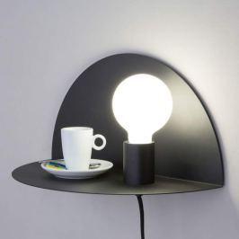 Als Nachttisch nutzbare Wandlampe Nit