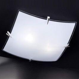 Bisa weiß glänzende Glas-Deckenleuchte