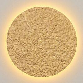 Meteor - große LED-Wandleuchte in Gold