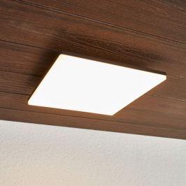 Quadratische LED-Deckenleuchte Henni für außen