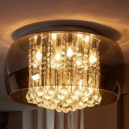 Edle LED-Kristall-Deckenleuchte Leona