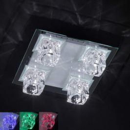 4-flammige LED Multicolour-Deckenleuchte VISION