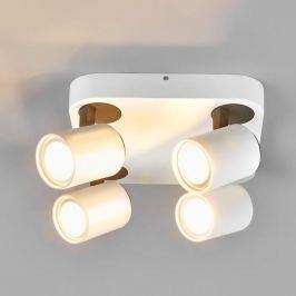 Eckige LED-Deckenlampe Sean, 4-flammig