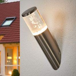 Schräg ausgerichtete LED-Wandlampe Belen für außen