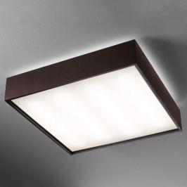 Deckenlampe Quadrat C m. LED 60x60 wenge